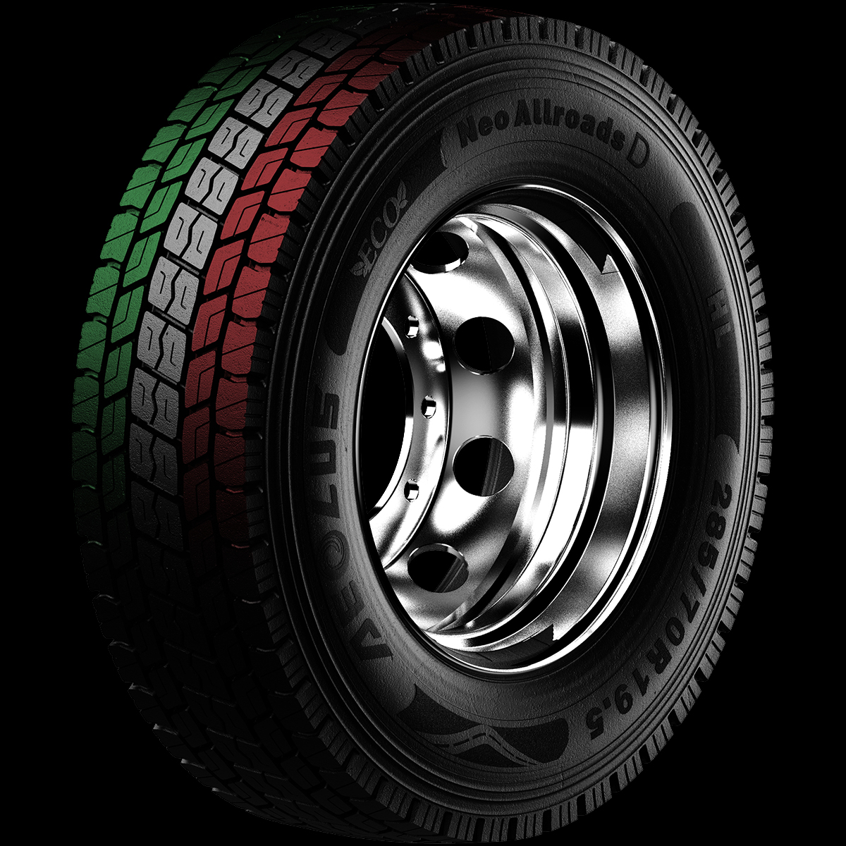 Designed in Italy tyre